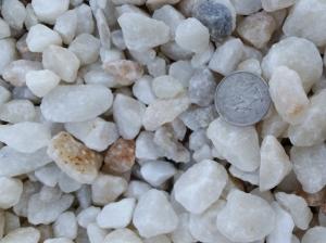 White Decorative Rock