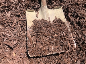 Brown Dyed Wood Chips