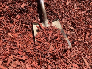 Red Dyed Wood Chips