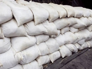 Filled Sandbags