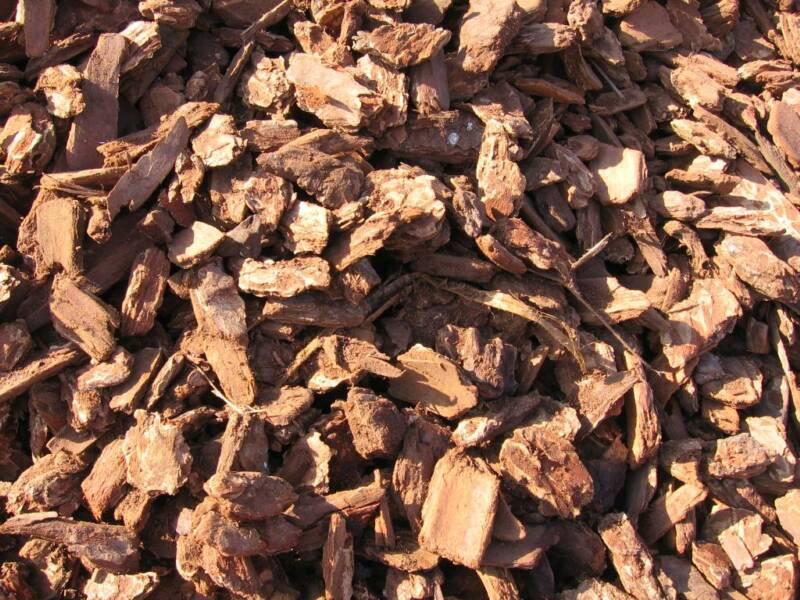 Redwood Bark Chips ~ Soildirect redwood medium bark nuggets in fullerton